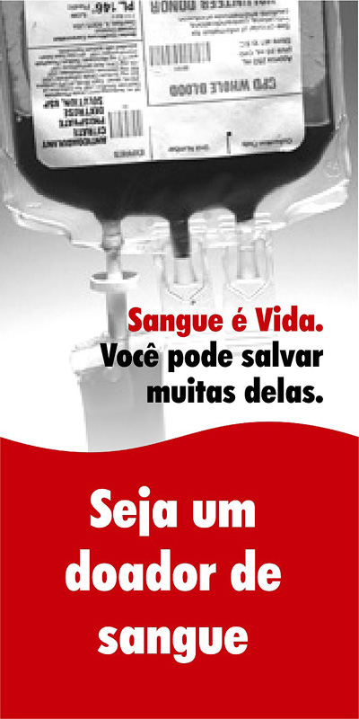 Doe Sangue! Salve Vidas! Campanha do Hemonúcleo de Cruzeiro do Sul